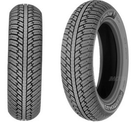 Мотошина Michelin City Grip Winter R13 130/60 60 P TL Задняя (Rear) REINF