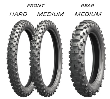 Мотошина Michelin Enduro Hard 90/90 -21 54R TT Передняя (Front) 2018