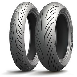Мотошина Michelin Pilot Power 3 SC R15 120/70 56 H TL Передняя (Front)
