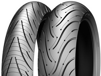 Мотошина Michelin Pilot Road 3 R17 110/70 54 W TL Передняя (Front)