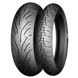 Мотошина Michelin Pilot Road 4 180/55 ZR17 73W TL Задняя (Rear)