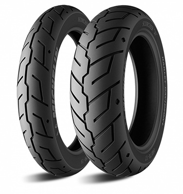 Мотошина Michelin SCORCHER 31 R19 130/60 61 H TL/TT Передняя (Front)