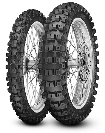Мотошина Pirelli MX32 Mid Hard 100/90 R19 Rear