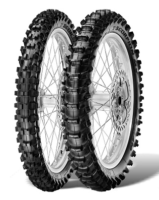 Мотошина Pirelli Scorpion MX Soft 410 R19 110/90 62 M Задняя (Rear) TT