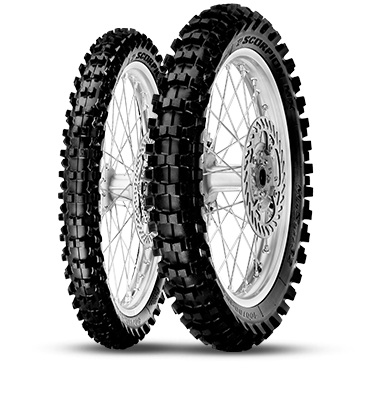 Мотошина Pirelli Scorpion MX Mid Soft 32 R19 110/85 TT Задняя (Rear) NHS