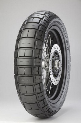 Мотошина Pirelli Scorpion Rally STR R17 120/70 58V TL Передняя (Front) M+S