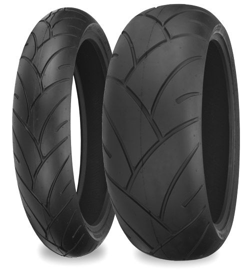 Мотошина Shinko 005 Advance Radial R17 120/70 58 W TL Передняя (Front)