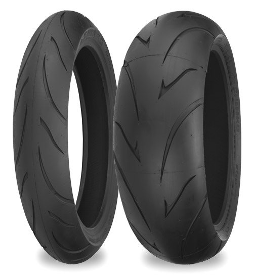 Мотошина Shinko 011 Verge Radial 200/50 ZR17 75W TL Задняя (Rear)
